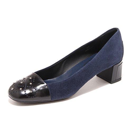 31518 blu Decollete Tods Ballerina Donna Shoes Women [38]
