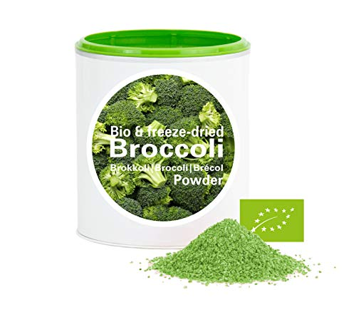 Brokkoli – Bio Brokkoli gefriergetrocknet |bio organic| freeze-dried broccoli| good-Gemüse von good-smoothie| 100% Gemüse |ohne zusatzstoffe + viele Inhaltsstoffe| 60g