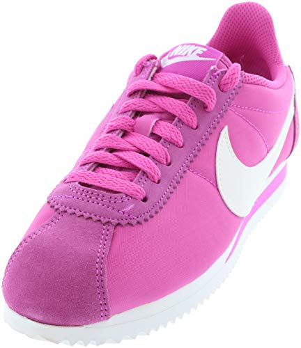 Nike Wmns Classic Cortez Nylon, Zapatillas de Atletismo Mujer, Multicolor (Active Fuchsia/Sail/Summit White 609), 37.5 EU