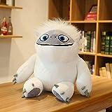 N / A Juguete de Peluche Abominable Personaje de película de Anime Monstruo Blanco Relleno muñeca Suave Juguetes para niños Regalo de cumpleaños 35 cm