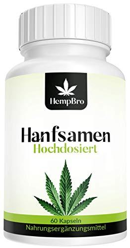 8 Sin Nutrition - Hanfsamen Kapseln - Hochdosiert - 60 hochdosierte Kapseln