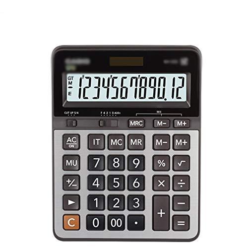 Taschenrechner, Business-Typ, Finanzrechner, Büro, Metallplatte, große Tasten, Taschenrechner 20.7*15.9cm a