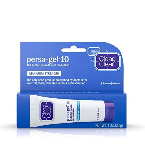 Clean & Clear J&J Acne Tr M/S Maximum Strength Persa-Gel 10 (1z)