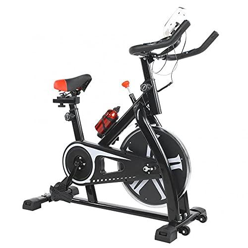 KCBYSS Bicicleta de ejercicio para el hogar Bicicleta de ciclismo interior ultra silenciosa Bicicleta estática Bicicleta de ejercicio para pérdida de peso con monitor LCD Bicicleta de ejercicio