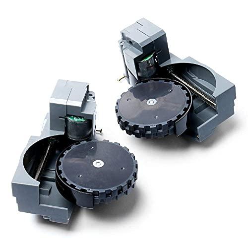 Piezas de repuesto para rueda derecha izquierda para Roomba serie 800, compatible con iRobot para aspiradoras Roomba 880, 870, 871, 885, 880, 980, 860, 875, 980, 880, 875, 980, (color rueda izquierda)
