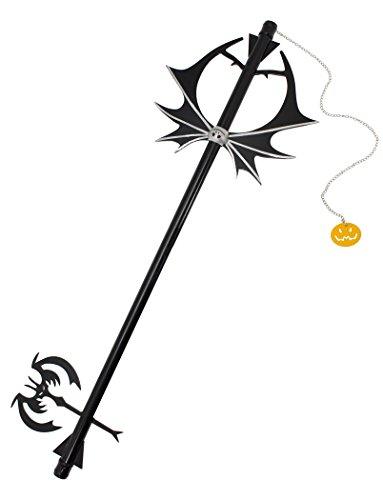 Keyblade Tête de Citrouille Halloween Jack 93cm Kingdom Hearts en métal