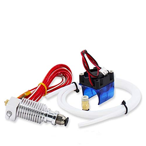 BGGPX / Adatta per E3D V6 V5 Estrusore Estrusore Stampante 3D ESTRUDER ESTRUDER 1.75 mm Ventilatore di Raffreddamento/Adatta per Stampanti 3D Ugello termistori 0.4mm Imprimante 3D (Size : V5 0.4mm)