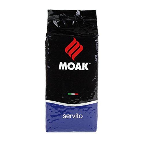 Moak Espresso Servito Bohnen, 1er Pack (1 x 1 kg)