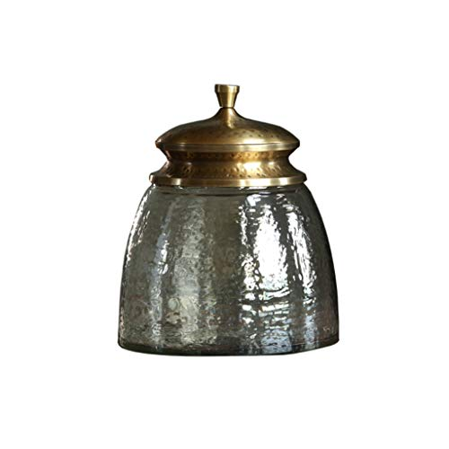 LTCTL Tarros de Almacenamiento Barattoli vetro Puede un Hermoso contenedor de Almacenamiento de Alimentos for el mostrador de la Cocina, el té, el azúcar, el café Frascos y Botes de Comida