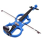 Blue Violin With Cases