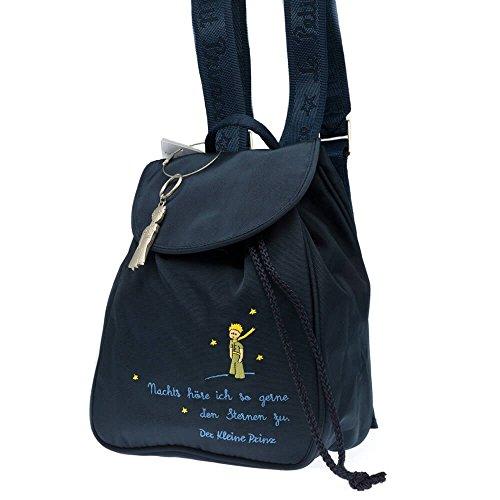 Petit Jour Paris Der kleine Prinz Rucksack für Kleinkinder dunkelblau