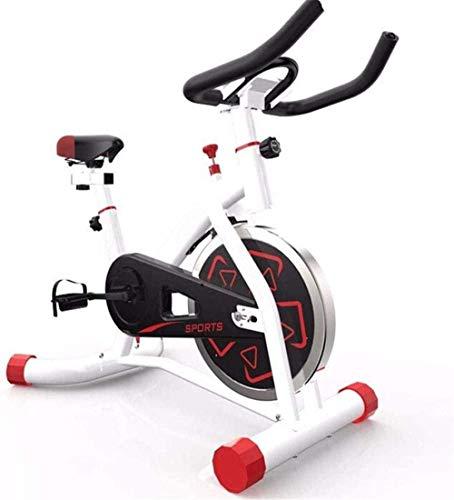 Spinning Bike Spinning Bike Game Home Ultra-silencioso pequeño ejercicio bicicleta ejercicio ejercicio fitness máquina conveniente-91x58x101cm_blanco