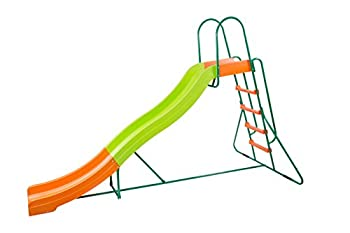 PLATPORTS Home Playground Equipment  10  Indoor/Outdoor Wavy Slide Ages 3 to 10 2021 Toy