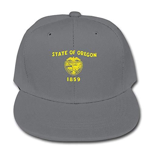 Flag of Oregon Adjustable Baseball Cap Hip Hop for Kid