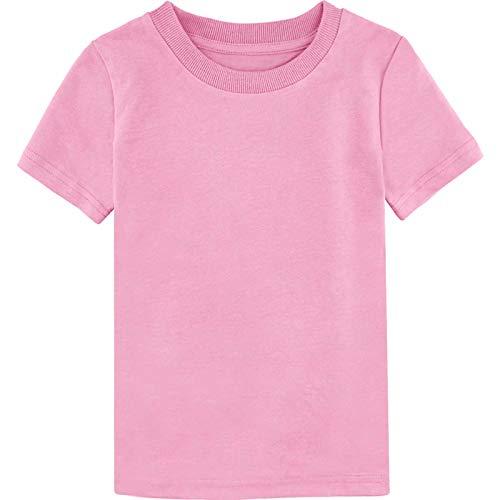 MOMBEBE COSLAND Camisetas Niños Corta Algodón T-Shirt, 98,