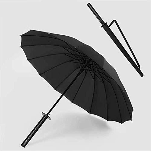 huyiko Samurai New Samurai Regenschirm lang Ninja Katana Japan B