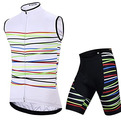 Conjunto de Maillot de Ciclismo para Mujer, Camisetas de Bicicleta de Carretera...
