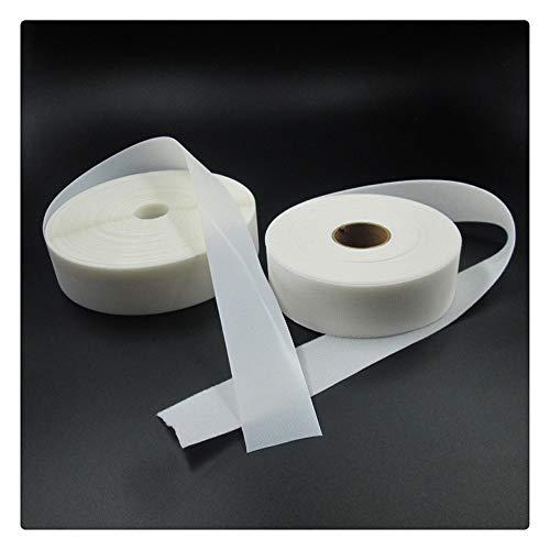 Aqiong KAERMA 2Meters Haken und Schlaufen Super Soft Baby-Hautfreundliche Windel DIY Kleidung Self Adhesive medizinischen Gebrauch Fastener Nähzubehör Multifunktionsklebeband (Size : White 2cmX200cm)