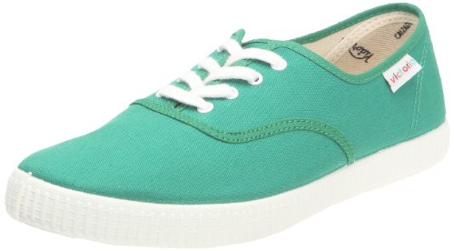 Victoria - Zapatillas 6613 - Inglesa de Lona - Unisex Adulto - Color : Verde -...