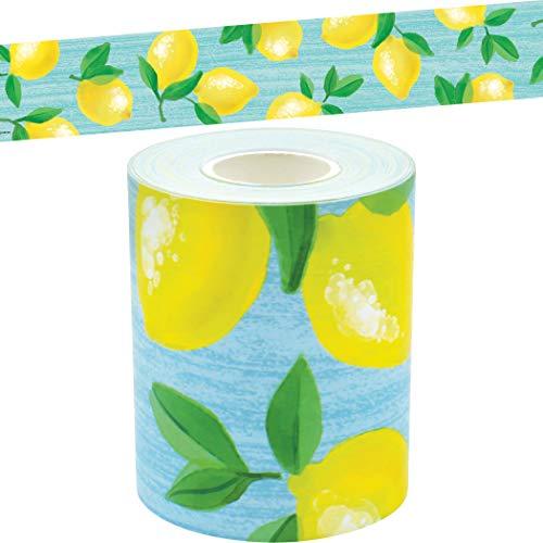 Lemon Zest Straight Rolled Border Trim