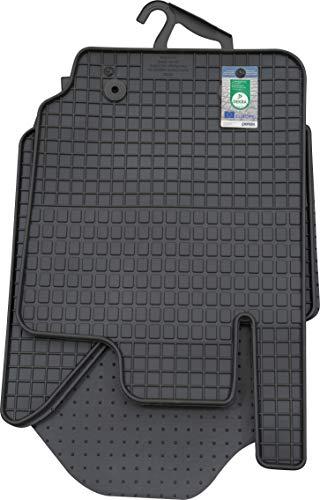 PETEX Gummimatten passend für Ranger ab 01/2012 Fußmatten schwarz 4-teilig