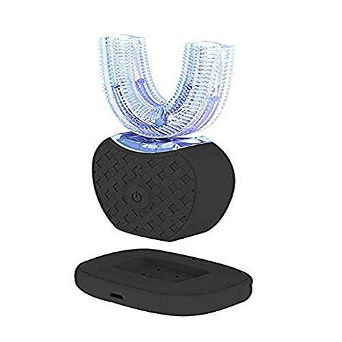 Spazzolino a Ultrasuoni Impermeabile, Spazzolino Ad Ultrasuoni, Completamente Automatico, Onda Ad Ultrasuoni e Base Di Ricarica Wireless