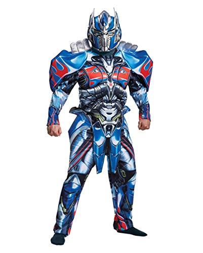 Transformers Optimus Prime Deluxe Muskelkostüm für Herren XL