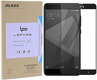 Redmi Note 4X 2.5D 9H Hardness Full Cover Tempered Glass Screen Protector Film for Xiaomi Redmi Note 4X 32G Version Black