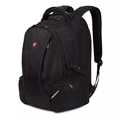 SwissGear ScanSmart Laptop Backpack, Fits Most 16' Notebook Computers, Swiss Gear Outdoor, Travel, School Bag Bookbag