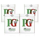 PG Tips Pyramid - Original Schwarzer Tee , 4x240 Teebeutel