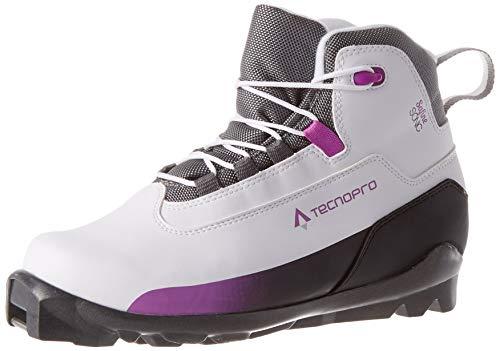 Tecno Pro Safine Sonic Esquí para Mujer Botas de esquí, Color weiß/Schwarz/Pink, tamaño 4,5