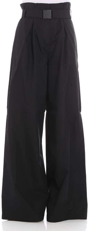 N°21 Women's B09106969000 Black Cotton Pants