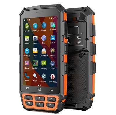 For Sale! GAOTek Rugged PDA with NFC & RFID Reader| IP65 rated sealing| Honeywell 2D Barcode Scanner| 8MP CameraHandheld Industrial Mobile Computer| 2GB RAM| 16GB ROM| Android 7| 4G,Wi-Fi| Waterproof|EDA-117-BC