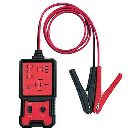 Mabor 12V Electronic Automotive Relay Tester, Car Battery Diagnostic Checker Tools with Clips Relay Tester Automotive Kit for Auto Repairing