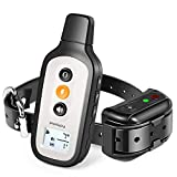 PetSpy X-Pro Dog Training Shock Collar for Dogs with Remote, Fully Waterproof Vibration and Beep Electric Trainer, Small to Large Dogs