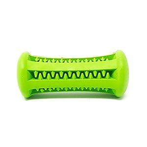 Petpany Chien Jouets à mâcher Jouets Dents bâton résistant aux morsures d'haltères en Caoutchouc Tige pour Animal Domestique Dents de Nettoyage et d'entraînement