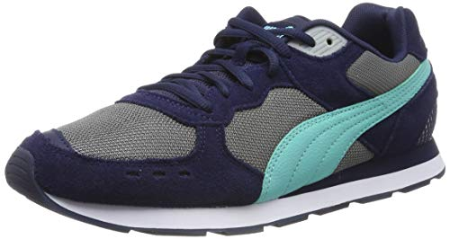 PUMJV|#Puma Vista Zapatillas Unisex adulto, Azul (Peacoat-High Rise-Blue Turquoise-Puma White 07), 36 EU (3.5 UK)