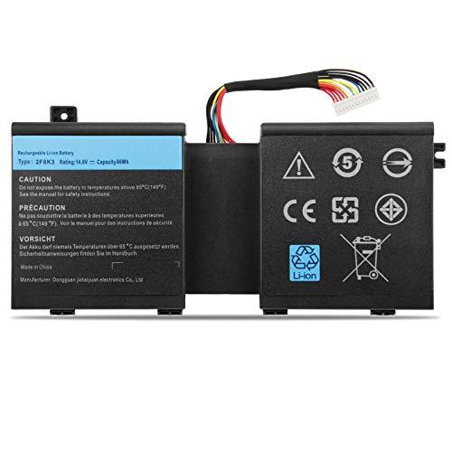 ANTIEE 86Wh 2F8K3 Notebook Batería para DELL Alienware 17 R1 17X M17X-R5...