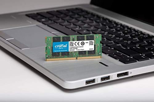 Crucial CT8G4SFS8266 – Memoria, 8GB Single DDR4 2666 MT/s (PC4-21300) SR x8...