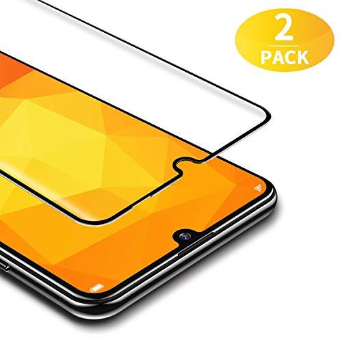 BANNIO für Panzerglas für Huawei P Smart 2019 / Huawei Honor 10 Lite [2 Stück] 3D Full Sreen Panzerglasfolie Schutzfolie ,9H Härte,Vollständige Abdeckung,Schwarz