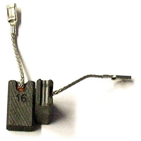 Con dispositivo de desconexi/ón ?x?x?mm Escobillas de Carb/ón para BOSCH GWS 22-180 H amoladora 0.0x0.0x0.0
