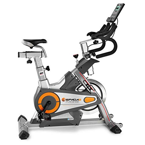 BH Fitness i.SPADA 2 RACING H9356I Indoor Bike - Magnetica e a frizione - Fitness apps - Monitore...