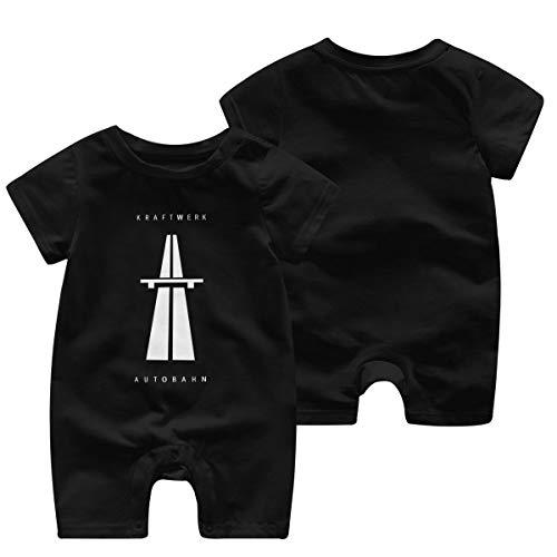 Baby Mädchen Jungen Bodysuit Kraftwerk Autobahn Logo Baumwolle Kinderbekleidung Bekleidung T-Shirt Kurzarm Tee Shirts