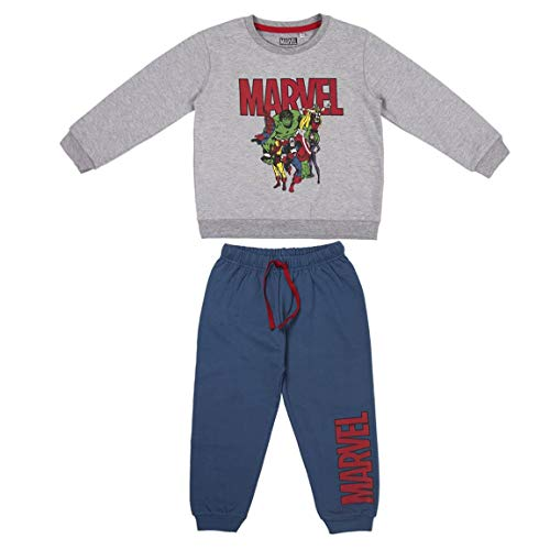 CERDÁ LIFE'S LITTLE MOMENTS 2200006248_T05A-C53 Chandal de 2 Piezas Infantil de The Avengers, Gris...