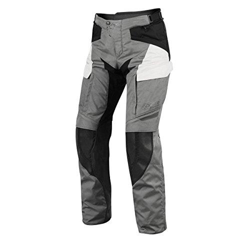 Alpinestars Motorradhose Durban Gore-tex Pant, Grau/Schwarz/Weiß, Größe 52