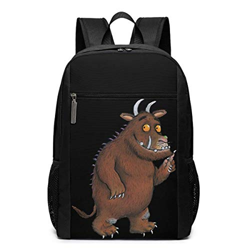 Lawenp The Gruffalo Backpack 17 Inch Laptop Bags College School Backpack Casual Daypack for Travel