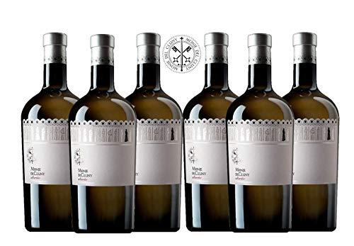 MONJE DEL CLUNY Vino blanco – Albariño Rias Baixas – Criado sobre