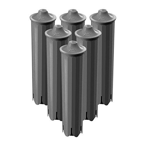 Jura 71793Claris Cartucho de filtro para agua, 6unidades