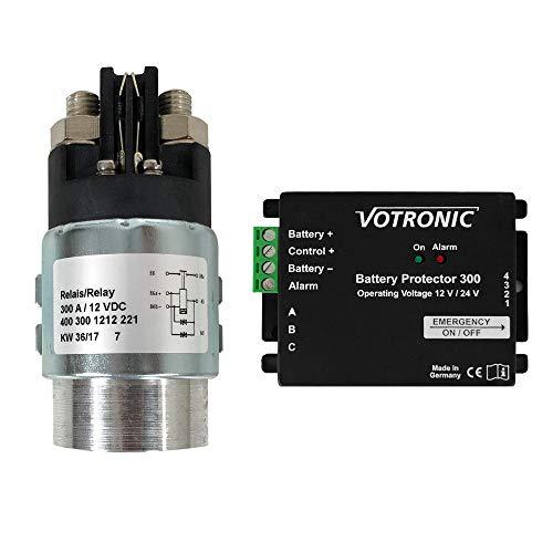 Votronic 3084 Battery Protector 300A 12V 24V Batterieschutz Batteriewächter Überspannungsschutz