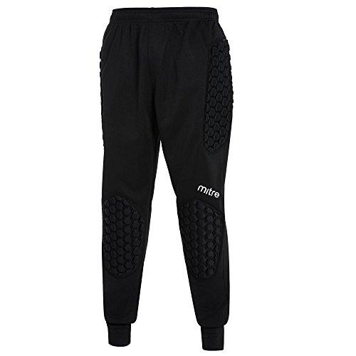 mitre T70034 Pantalon de Football Mixte Enfant, Noir, FR : L (Taille Fabricant : L)